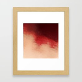 Pink Cherry Framed Art Print