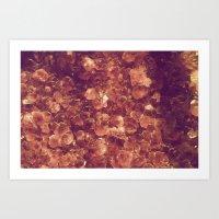 minerals Art Prints featuring Minerals by Yuli Scheidt