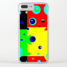 Colorplosion Clear iPhone Case