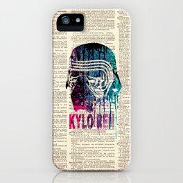 WARS #KYLO REN #DICTIONARY iPhone Case