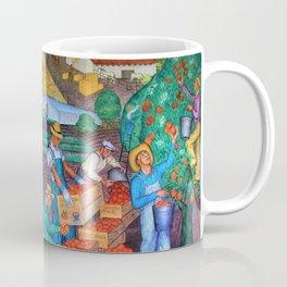 Coit Tower 'Orange Grove mural,' San Francisco, California Coffee Mug