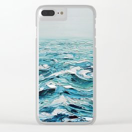 Into the Mystic Clear iPhone Case