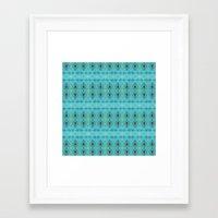 boho Framed Art Prints featuring Boho  by Monike Meurer