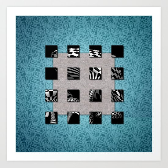 SQUARE AMBIENCE - Sports Art Print