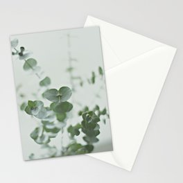 EUCALYPTUS GREEN 2 Stationery Cards