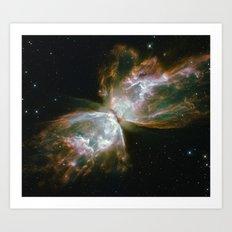 The Butterfly Nebula Art Print