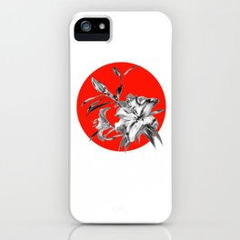 RED SUN iPhone Case
