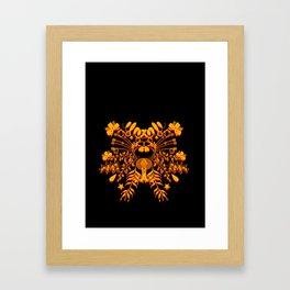 A Crown Framed Art Print