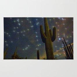 A Starry Desert Evening Rug
