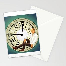 Clock spirits Stationery Cards