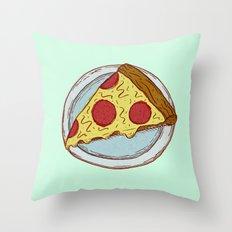 Pizza Experiment Throw Pillow