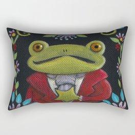 Mister Frog Rectangular Pillow