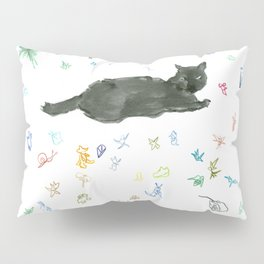 cat and toy Pillow Sham