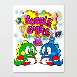 Bubble Bobble Canvas Print