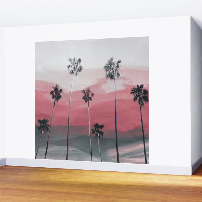 Palm Trees 3 Wall Mural