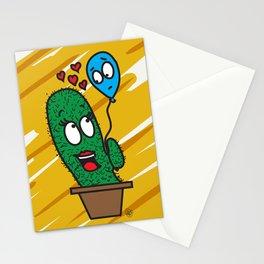Spiky love Stationery Cards