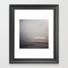 Chase Waves Framed Art Print