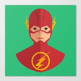 flat for flash Canvas Print