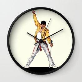 Freddy Mercury Wall Clock