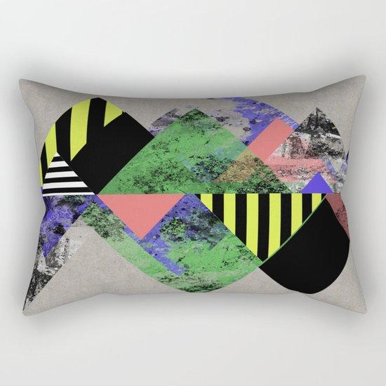 Triangles! Rectangular Pillow