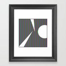 RGB2 Framed Art Print