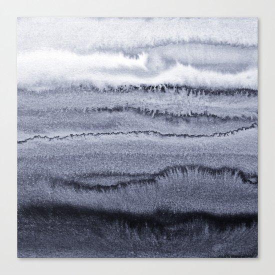 WITHIN THE TIDES - VELVET GREY Canvas Print