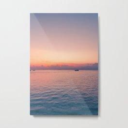 Balinese sunsets Metal Print