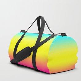 Ombre Magical Rainbow Unicorn Colors Duffle Bag