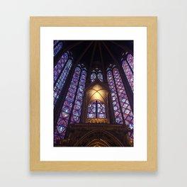 SAINTE-CHAPELLE Framed Art Print