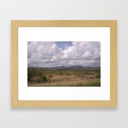 Desert Feild Framed Art Print