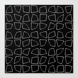 Changing Perspective - Simplistic Black and white Canvas Print