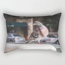 NYC Pigeon Rectangular Pillow