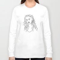 charli xcx Long Sleeve T-shirts featuring Charli XCX by Isometric Designs