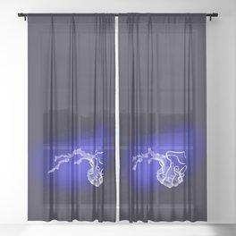 Luminous Angel Jellyfish Sheer Curtain