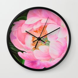 Bold and Beautiful by Teresa Thompson Wall Clock