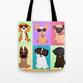 Breeds by NilseMariely, Diseños queLadran Tote Bag