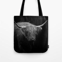 BW Hairy Coo Tote Bag