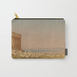 Sanford Robinson Gifford Ruins of the Parthenon 1880 Painting Carry-All Pouch