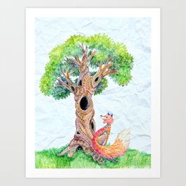 The Spirit Tree V2 Art Print