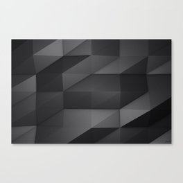 Faceted Canvas Print