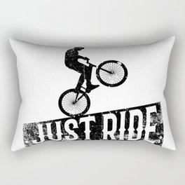 Just ride Rectangular Pillow