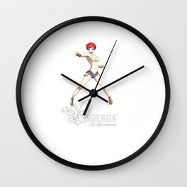 Raganas Microbrew Boss Swimsuit Wall Clock