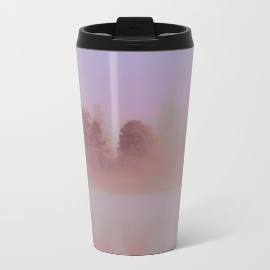 Over The Rainbow Forest Metal Travel Mug