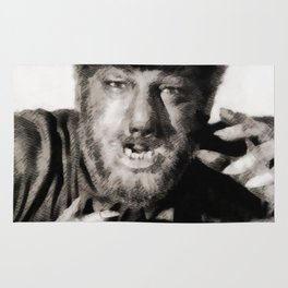 Lon Chaney, Jr. as Wolfman Rug