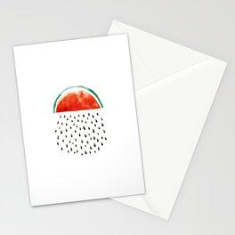 watermelon rain Stationery Cards