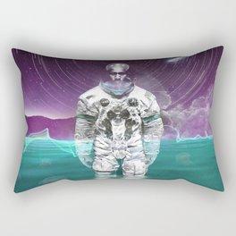 Enceladus Moon Walk Rectangular Pillow
