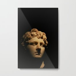 Grecian Bust Metal Print