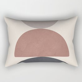 Balancing Elements III Rectangular Pillow