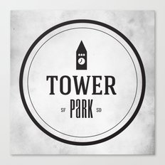 Tower Park Canvas Print