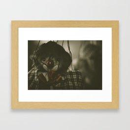 The Puppet Show Framed Art Print